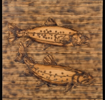 BASS-carved_torched_wood_w_encaustic_wax__30x30_